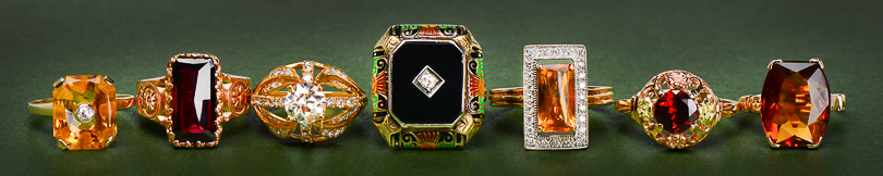 Antique Vintage Ring Examples